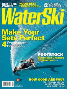 Wade Williams Water Ski Magazine July 2007